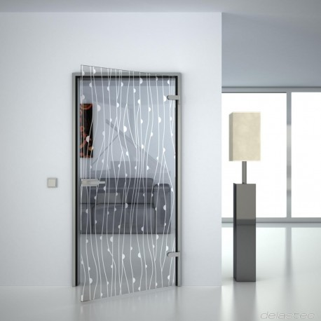 Glass door Amonia