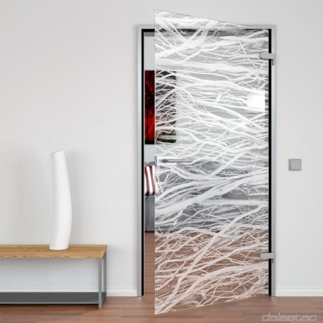 Glass door Branch