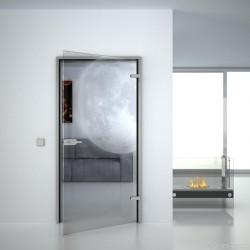 Glass door Moon