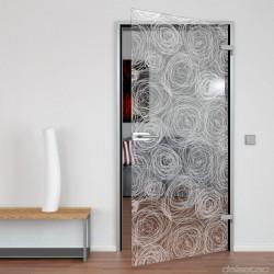 Glass door Circles