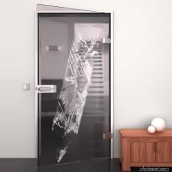 Glass door Creativity