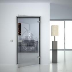 Glass door Off