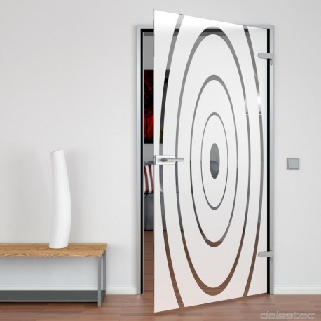 Exklusive Glass door Hypnotic