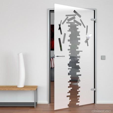 Glastür für den Innenbereich Caducus