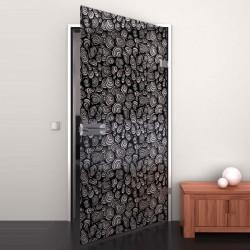 Lacobel-Glass door Black Snoet