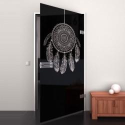 Lacobel-Glass door Dreamcatcher