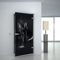 Lacobel-Glass door Feets