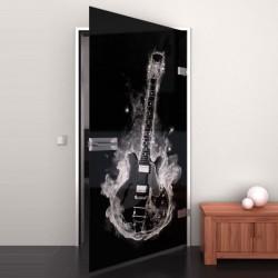 Lacobel-Glass door Hot Guitar
