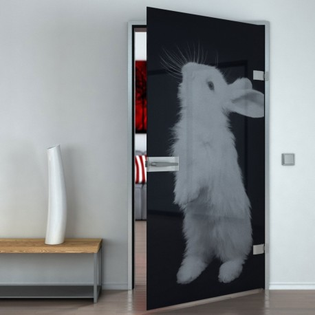 Lacobel-Glass door Rabbit