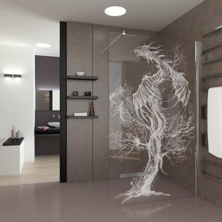 Walk-In Shower Dragon