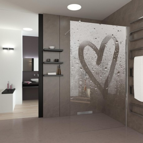 Walk-In Dusche Steamy Heart