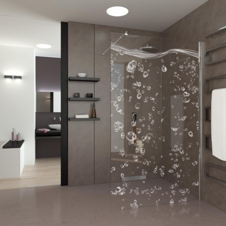 Walk-In Shower Bubbles