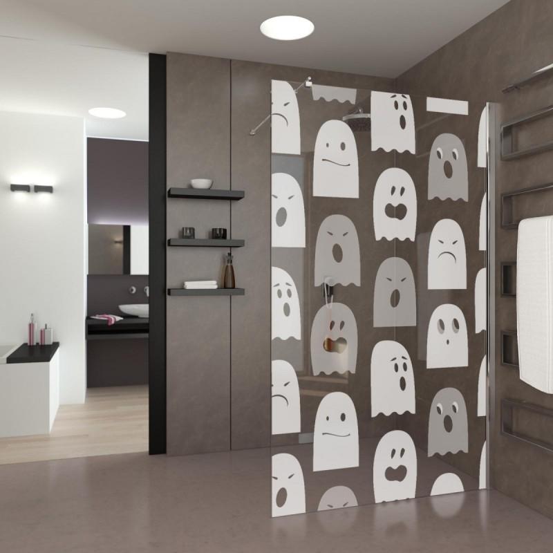 lustige walk in dusche geisterj ger. Black Bedroom Furniture Sets. Home Design Ideas