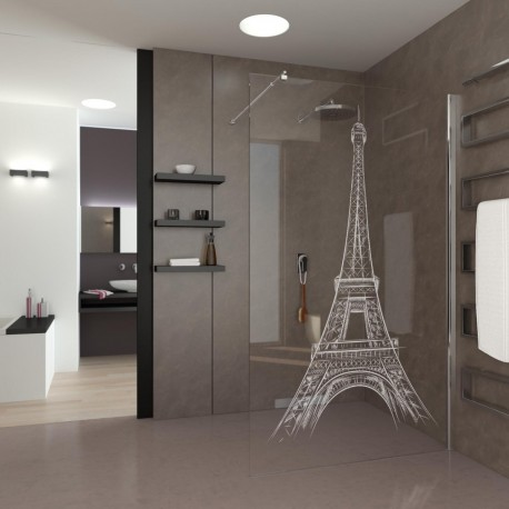 Walk-In Shower Eiffel Tower