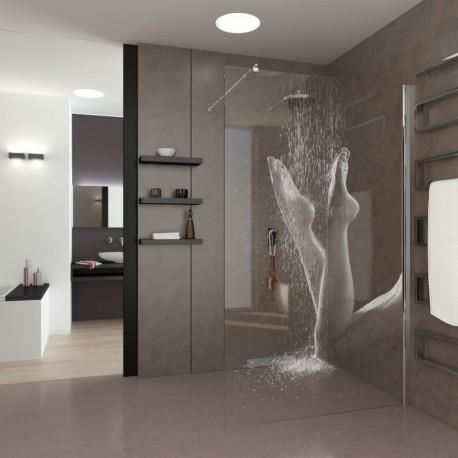 Walk-In Dusche Füsse