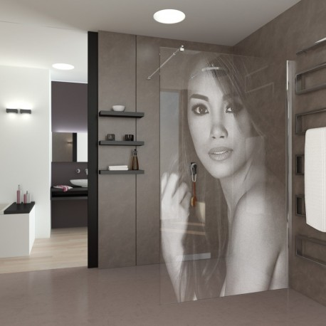 Walk-In personalized Shower