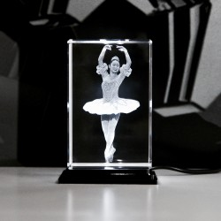 Balletttänzerin  60x60x90mm