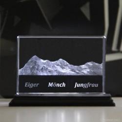 Eiger Mönch Jungfrau 90x60x30